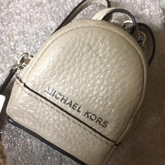 Michael Kors Accessories   Small Backpack Keychain   Poshmark 260e11dde7